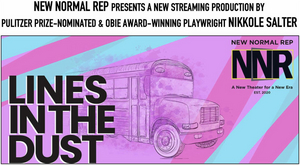 LINES IN THE DUST Starring Jeffrey Bean, Melissa Joyner & Lisa Rosetta Strum to be Presented by New Normal Rep
