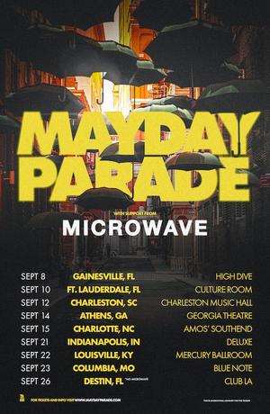 Mayday Parade Announces Fall Headline Tour Dates