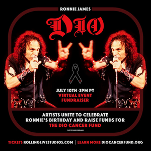 Ronnie James Dio Birthday Fundraiser Announced for Stand Up And Shout Cancer Fund