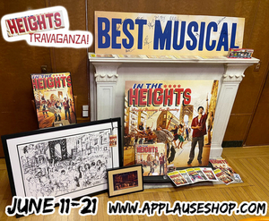 Applause Shop to Present Special Sale of IN THE HEIGHTS Memorabilia to Benefit Fresh Youth Initiatives