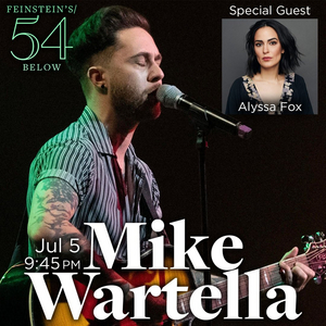 Mike Wartella to Perform at Feinstein's/54 Below in July