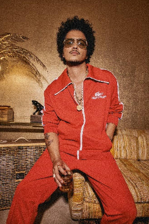 Bruno Mars to Perform at MGM National Harbor in August 2021