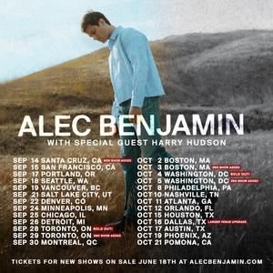 Alec Benjamin Announces Additional North American Tour Dates