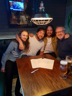 MEXICAN DOGS Sign To Fretsore Records