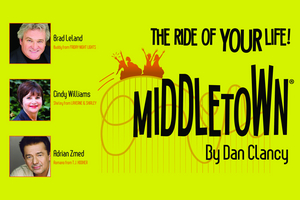 MIDDLETOWN Starring Cindy Williams, Adrian Zmed & Brad Leland is Coming to the Eisemann Center