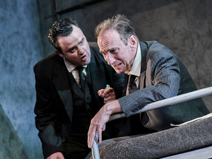 BWW Review: THE DUMB WAITER, Old Vic: In Camera