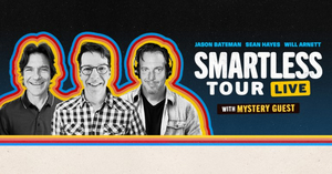Jason Bateman, Sean Hayes, & Will Arnett To Take 'SmartLess' Podcast On Tour