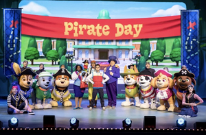 PAW PATROL LIVE! THE GREAT PIRATE ADVENTURE PAW is Coming to NJPAC