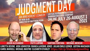 Barrington Will Stream an Encore Presentation Of JUDGMENT DAY With Jason Alexander, Patti LuPone, Santino Fontana, and Michael McKean!