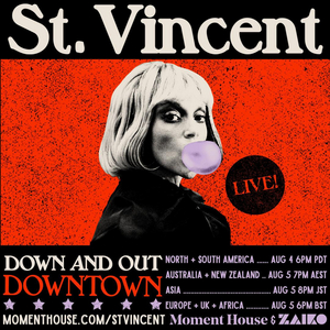 St. Vincent Announces Down And Out Downtown; A Special Live Streamed Concert