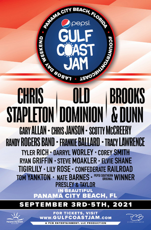 2021 Pepsi Gulf Coast Jam Announces Full Lineup