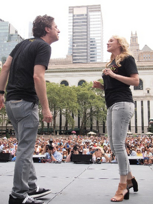 Bryant Park BROADWAY-BOUND Initiative Adds Betsy Wolfe, George Salazar, Denée Benton & More to Summer Faculty