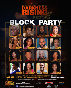 Lillias White, Nick Rashad Burroughs and More to Perform at Darkness RISING's Black Mental Health Benefit Block Party