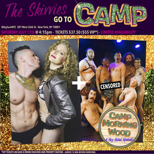 The Skivvies and Sutton Lee Seymour to Join CAMP MORNING WOOD: A VERY NAKED MUSICAL