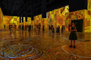Construction Delays Force IMMERSIVE VAN GOGH To Push Opening to September 15 on the Las Vegas Strip
