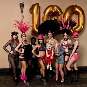 BurlesQ Celebrates 100th Performance In Vegas