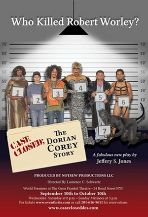 THE DORIAN COREY STORY to be Presented at the Gene Frankel Theatre