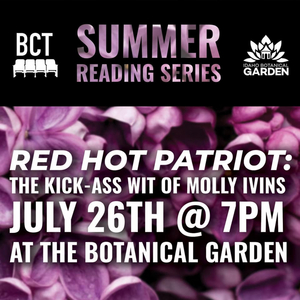 Boise Contemporary Theater Will Host Reading of RED HOT PATRIOT: The Kick-Ass Wit of Molly Ivins