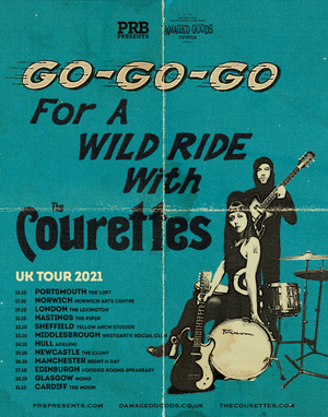 The Courettes Announce UK Tour for October 2021
