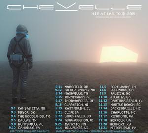 Chevelle Announce Fall 2021 Tour Dates