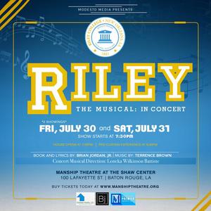 Brian Jordan Jr.'s New Musical RILEY to Premiere This Weekend