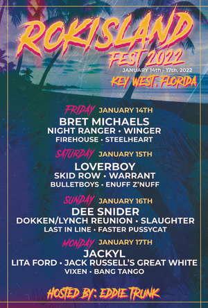 RokIsland Fest 2022 Confirmed For January 14-17 in Key West