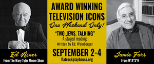 Ed Asner and Jamie Farr to Star in TWO JEWS, TALKING at Flat Rock Playhouse