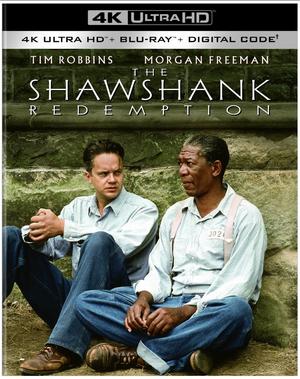 THE SHAWSHANK REDEMPTION Arrives on 4K Ultra HD & Digital September 14