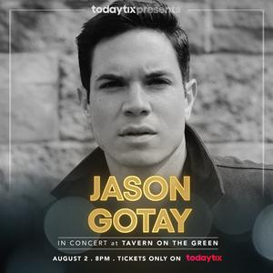 Jason Gotay Will Perform at TodayTix at Tavern Next Week