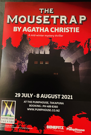 BWW Review: THE MOUSETRAP at The Pumphouse, Takapuna