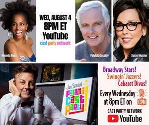 August 4th JIM CARUSO'S PAJAMA CAST PARTY Says Hello to Patrick Cassidy
