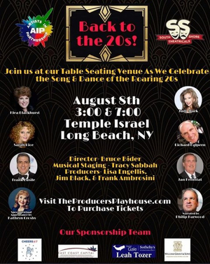 Blackhurst, Rice, Mark and More Appear in BACK TO THE 20s! On August 8th