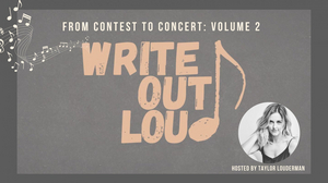 Taylor Louderman's WRITE OUT LOUD: FROM CONTEST TO CONCERT VOLUME 2 to be Presented at Feinstein's/54 Below