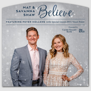 MAT & SAVANNA SHAW: BELIEVE is Coming to Salt Lake City's Eccles Theater This December