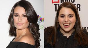 Lea Michele Celebrates Beanie Feldstein Casting In FUNNY GIRL