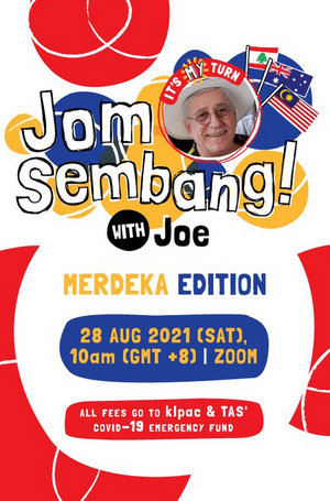 JOM SEMBANG WITH JOE! Will Stream Next Week