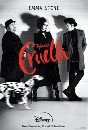CRUELLA Will Be Available to Disney Plus Subscribers on Aug. 27