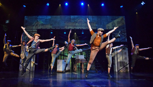 BWW Review: NEWSIES Makes Headlines at Beef & Boards