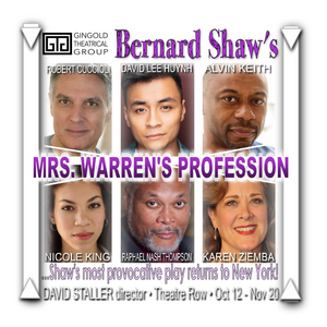 Robert Cuccioli, Karen Ziemba and More to Star in Revival of MRS. WARREN'S PROFESSION