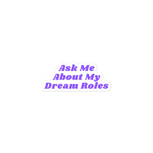 Student Blog: Why My Dream Roles Are My Dream Roles