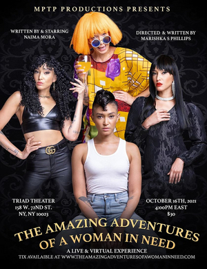 AMERICA'S NEXT TOP MODEL Winner Naima Mora Will Lead THE AMAZING ADVENTURES OF A WOMAN IN NEED Off-Broadway