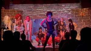 BWW Review: THE ROCKY HORROR SHOW at The Desert Rose Playhouse is Campy, Bloody Fun.
