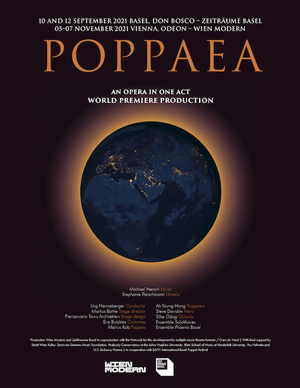 POPPAEA - Second Opera by Composer Michael Hersch to Receive World Premiere in Basel