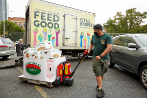 CITY HARVEST Rescues and Delivers Billionth Pound of Food for New Yorkers