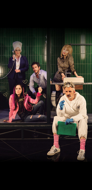 LOVE AND PANDEMIC Comes To Cameri Theatre Tomorrow