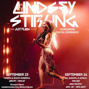 Lindsey Stirling Announces THE ARTEMIS TOUR: WORLDWIDE DIGITAL EXPERIENCE