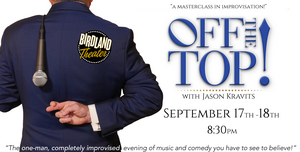 OFF THE TOP! WITH JASON KRAVITS to Return to Birdland Theater
