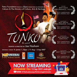 Kuala Lumpur Performing Arts Center Streams TUNKU THE MUSICAL