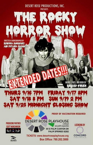 Desert Rose Playhouse has Extended Its Run for THE ROCKY HORROR SHOW