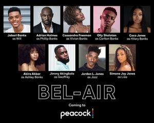 Peacock Announces Full Cast For BEL-AIR Reboot